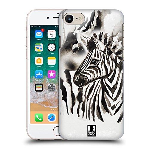 Head Case Designs Zebra Schwarzweisse Tiere Ruckseite Hülle für Apple iPhone X Zebra