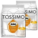 Tassimo Café HAG Crema Decaffeinato, Caffè, Capsule Caffè, Tostato, Macinato, Pacco da 2, 2 x 16 T-Discs