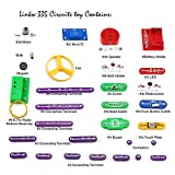 Enlarge toy image: 335 DIY Circuit Experiments,Science Kits,Electronic Discovery Kit Toy for Kids,Kids Circuits,Kids Circuit Kit,Science Experiments For Kids,Experiments For Kids,Science Experiment Kits For Kids,Electronic Building Block Kit,Science for Kids,Educational Science Kit Toy-With 31 Circuit Modules