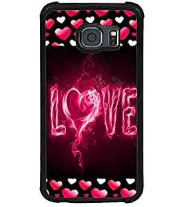 ColourCraft Love Design Back Case Cover for SAMSUNG GALAXY S6