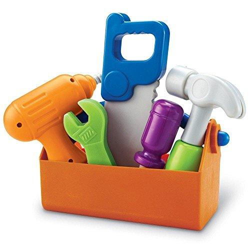 Learning Resources New Sprouts Werkzeugkoffer für Kleinkinder, (Bohrmaschine-erweiterung)
