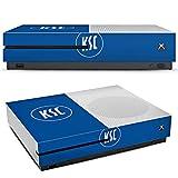 DeinDesign Microsoft Xbox One S Folie Skin Sticker aus Vinyl-Folie Aufkleber KSC Karlsruher SC Merchandise Fanartikel