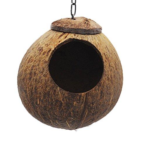 UEETEK Nido per Uccelli Casette per Uccelli Cocorite Pappagallo Amaca per Furetti