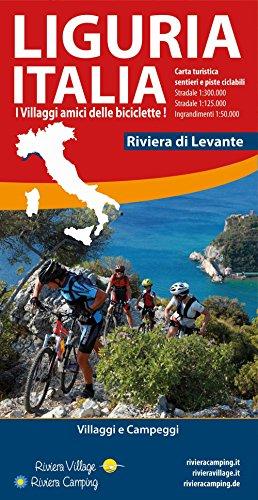 Liguria Italia riviera di Levante. Carta turistica, sentieri e piste ciclabili por Stefano Tarantino