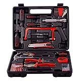Kompletter Manuell Werkzeugsatz, dieser Handwerkzeug Set für Dekoration, Montage, Heimbüro und Werkstattreparatur