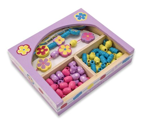 Melissa & Doug Flower Power Perlen Set (Melissa Doug Und Set Perlen)