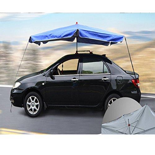 L&Z Car Canopy Markisen-Zelt-Auto-Abdeckungen-Im Freien Wasserdichter Tragbarer Auto-Regenschirm