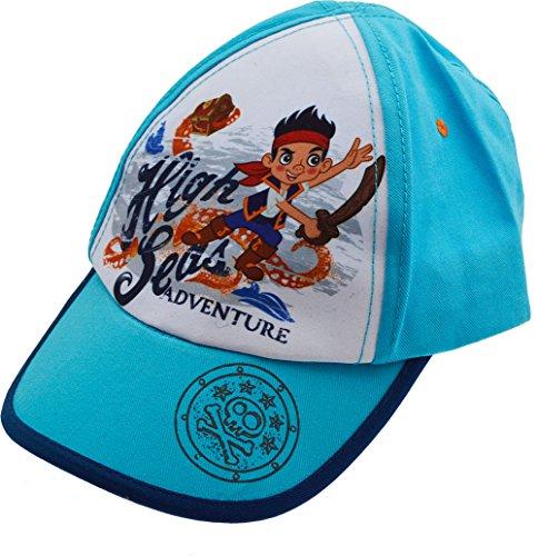 Disney-Jake und die Nimmerland Piraten 100% Baumwolle Baseball Cap Hat, Blau