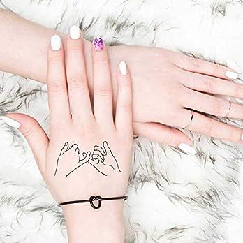 Pinky Promise – Tatuaggio temporaneo (set di 2)