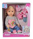 Simba 105030055 New Born Baby Mädchen Puppe