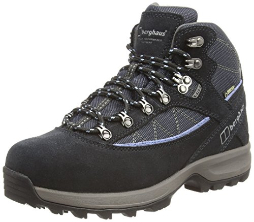 Explorer Gtx Boot (Berghaus Explorer Trek Plus GTX, Women's High Rise Hiking Shoes, Blue (Navy/Soft Blue), 8 UK (42 EU))