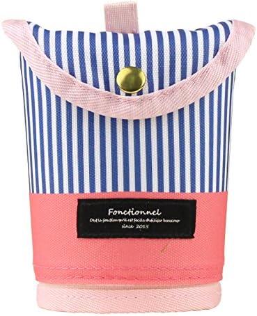 Fannies penna con penna custodia case Big Stripe rosa 11445 11445 11445 | Menu elegante e robusto  | Special Compro  | Aspetto estetico  c018d3