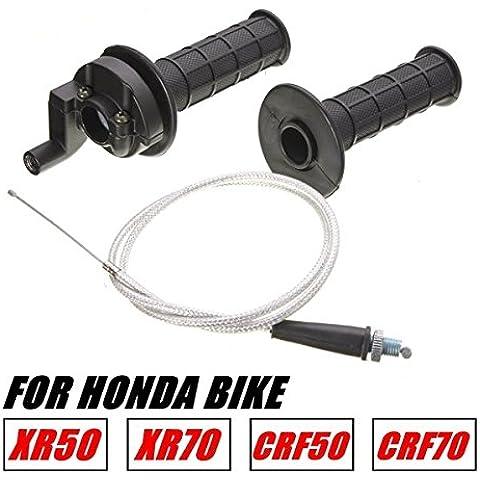 Yongse Cavo acceleratore manubrio Impugnature involucro per Honda XR50 CRF50 XR70 CRF70