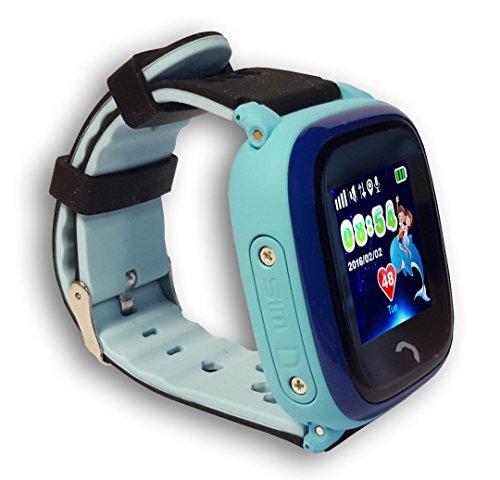 VIDIMENSIO GPS Telefon Uhr Kleiner Delfin Wifi WASSERDICHT für Kinder, SOS Abbildung 3