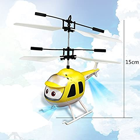 youruichuangHand Induction Aircraft Toy Remote Control RC Sensing Helicopter Christmas Toy