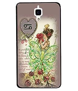 Fuson 2D Printed Girly Designer back case cover for Xiaomi MI 4 - D4615