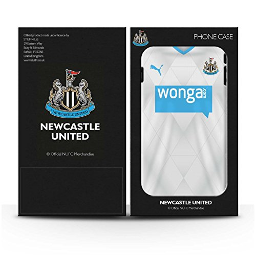 Offiziell Newcastle United FC Hülle / Glanz Harten Stoßfest Case für Apple iPhone 6+/Plus 5.5 / Sissoko Muster / NUFC Trikot Away 15/16 Kollektion Pack 29pcs