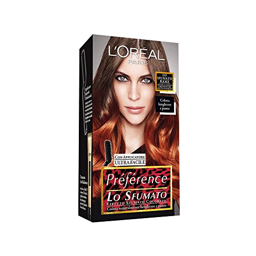 Préférence Les Ombrés–Tinte para mechas californianas, color cobre, para cabellos color rubio oscuro y castaño