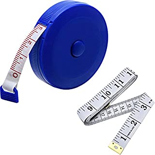 eBoot 60-Inch 1.5 Meter Soft Tape Measure and Retractable Tape Measure Set