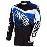 O'Neal Element Racewear MX Motocross Jersey Shirt Enduro Offroad Motorrad Quad Cross Erwachsene, 0008, Farbe Blau, Größe M