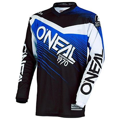 O\'Neal Element Racewear MX Motocross Jersey Shirt Enduro Offroad Motorrad Quad Cross Erwachsene, 0008, Farbe Blau, Größe M