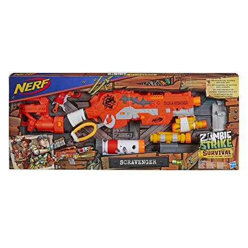 Nerf E1754EU4 Zombie Strike Survival System Scavenger