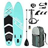 FBSPORT Sup Hinchable, 15cm de Espesor Tabla de Surf Sup Paddleboard, Tabla...
