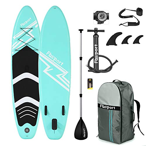 FBSPORT Sup Hinchable, 15cm de Espesor Tabla de Surf Sup Paddleboard, Tabla Inflable de Paddle Surf, Set de Sup con Tabla y Accesorios