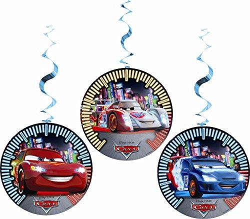 Disney Cars Party Dekorationen, 3Stück (Cars Dekoration)