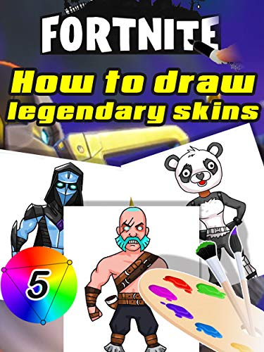 Draw Fortnite Legendary Skins Step By Step Half Wolf Dire