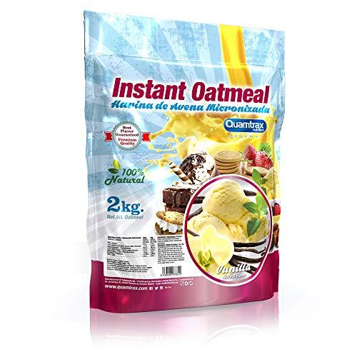 Quamtrax Nutrition Avena Instantánea, Sabor Vainilla - 2000 gr