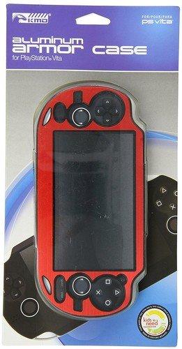 KMD PS Vita Dual Panzergehäuse aus Aluminium, Rot - M Vita Ps Spiele