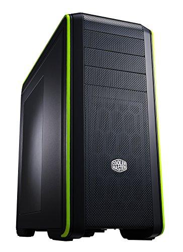 Cooler Master CM 690 III Green PC-Gehäuse 'ATX, micro-ATX, USB 3.0, Seitenfenster' CMS-693-GWN1