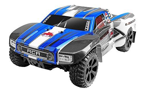 Preisvergleich Produktbild Redcat Racing Blackout SC 1/10 Skala Elektrischer Kurzbahn-Lkw mit wasserdichtem elektronischem Fahrzeug, Blau