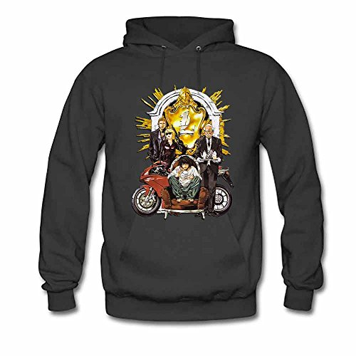 Death Note Manga L Poster Women's Cotton Hoodie XXL