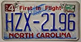 USA Nummernschild NORTH CAROLINA ~ US Kennzeichen LICENSE PLATE ~