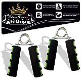 Fitness Prince FitGrip di 2 Set Allenatori Mani Allenatori Avambracci Mani Muscoli Mani Allenatori Grip Forza Dispositivo di allenamento