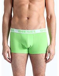 Diesel Hommes Boxer Trunk frais et lumineux Cotton Stretch Pant - fluorescente verte