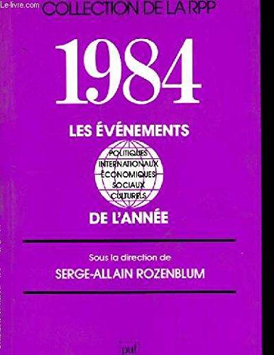 1984. les evnements de l'anne.