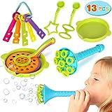 Joinfun 13 Stück Seifenblasen Kinder Bubble Macher Spielzeug Blasen für Kinderparty Taschenfüller Sommer Outdoor Hochzeitsprudel Seifenblasen Kinderspielzeug