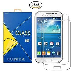 """[2 Pack] Pellicola Vetro Temperato La pellicola in vetro temperato per """"Samsung Galaxy Grand Neo / Grand Neo Plus ( GT-I9060 / I9060i / 9060 / I9080 / I9080i / 9080 )"""" viene realizzata con un processo chimico, che assicura massima protezione da urti ..."""