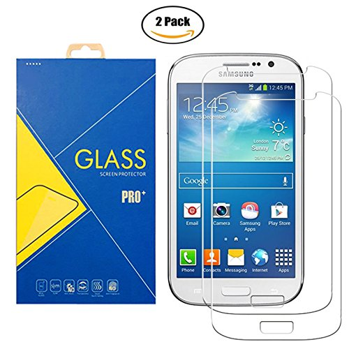 [2 Pack] Pellicola Vetro Temperato Samsung Galaxy Grand Neo / Grand Neo Plus ( GT-I9060 / I9060i / 9060 / I9080 / I9080i / 9080 ) - Schermo Antiurto Antigrafio