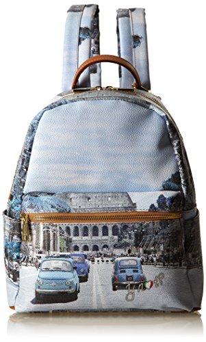 Zaini Scuola Ynot H 380, Zaino Donna, Multicolore (Weekend