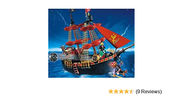 pièce pour bateau pirate pirate boat set 4424 Playmobil
