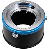 Fotodiox Pro Lens Mount Adapter with Aperture Control Ring - Deckel-Bayonett (Deckel Bayonet DKL) Mount Lenses to Canon EOS M (EF-m Mount) Camera Bodies; fits EOS M, M2 Digital Mirrorless Camera