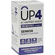 Up4 Probiotic - Up4 Seni Original Probotics With Dds-1 25 Billion Cfu - 60 Vegcaps