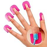 Contever® Reusable 10 Sizes Pack of 26pcs Nail Polish Easy | Nail Polish Stencil