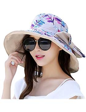 Sombrero De La Pesca Del Ocio Del Ms De GTYW UPF 50 + Lado Ancho En El Sol Visera De Sun Que Va De Excursión Sombrero...