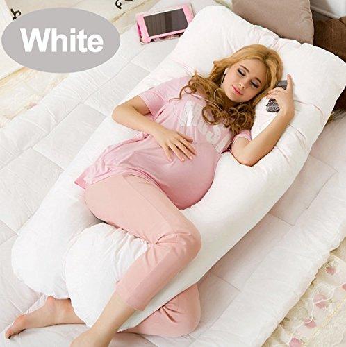 Pillow Pleasure (TM) gran C U maternidad apoyo almohada con funda de algodón
