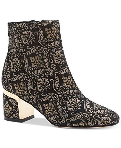 DKNY Frauen Corrie Ankle Pumps rund Fashion Stiefel Schwarz Groesse 6.5 US /37.5 EU